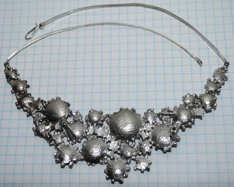 Колье - серебро (Европа, винтаж)