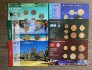 6 Наборов монет...В КОЛЛЕКЦИЮ...C РУБЛЯ.