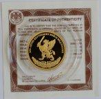 50 рублей 200-летие Внутренних войск МВД России 2011 год 7,78 грамма золота сертификат