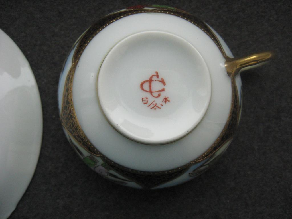 Кофейная пара Япония ручная роспись