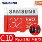 Карта памяти MicroSD SAMSUNG EVO+ 32Gb