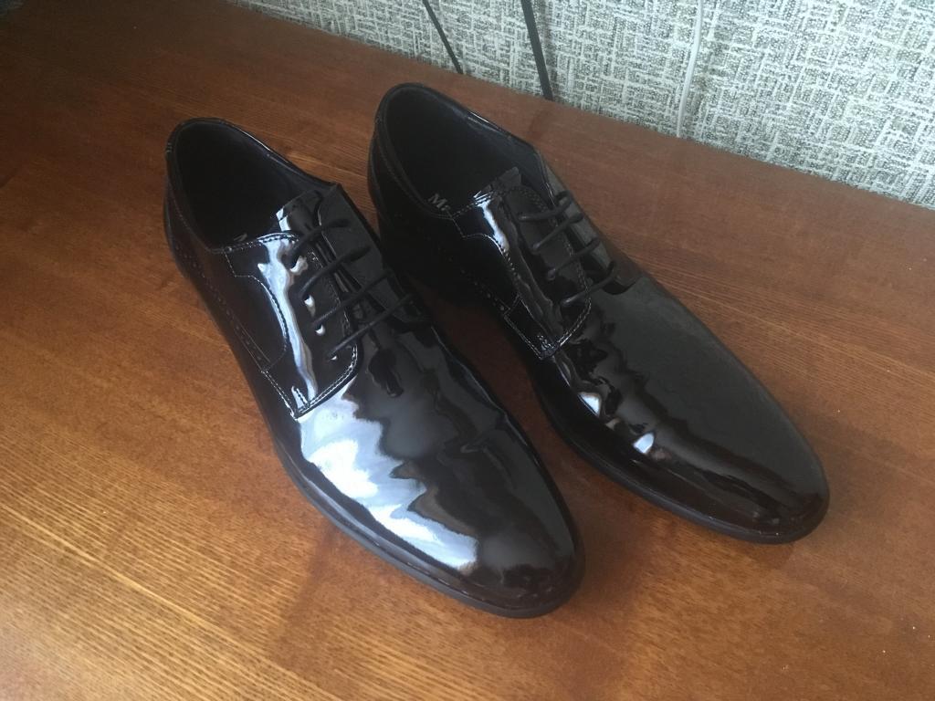 Лакированные мужские туфли Marco Lippi