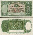 Австралия 1941год 1 фунт UNC