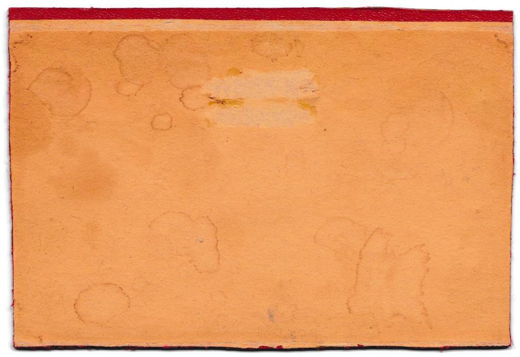 Натюрморт «Розы», 15 х 10 см. Театральный художник Семёнова А.М. Холст, масло. 50-е годы.