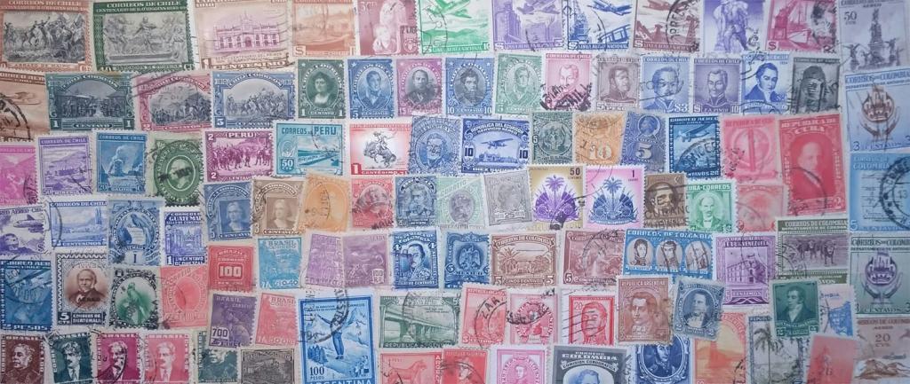 100 марок стран Южной Америки