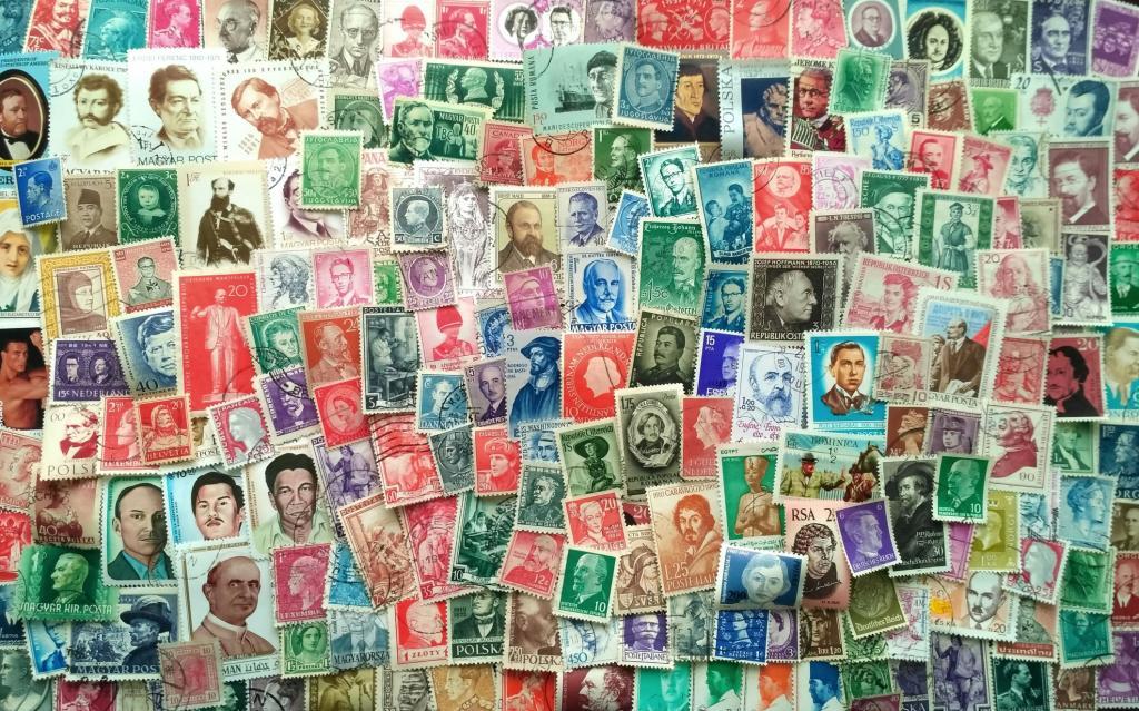 200 иностранных портретных марок