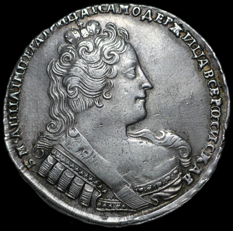Рубль 1733 ООО НЕОПИСАНА В БИТКИНЕ