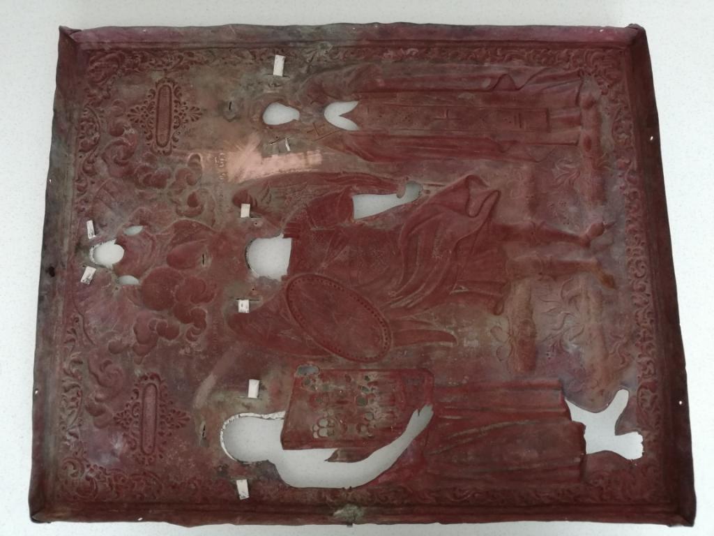 Архангел Михаил с предстоящими святыми Андреем и Евдокия