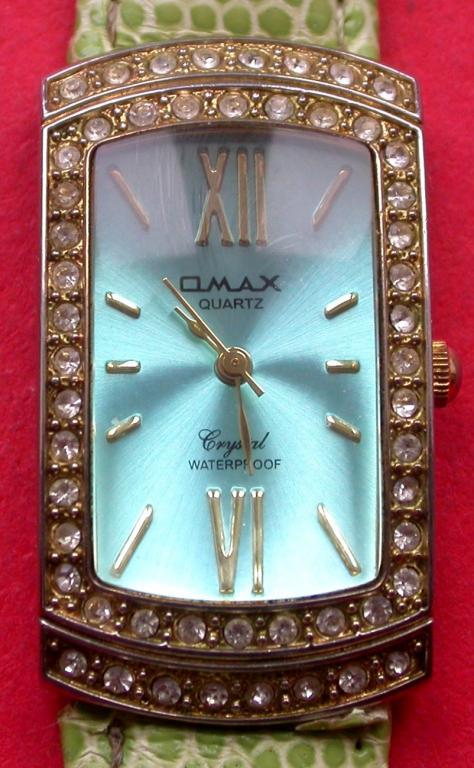 """+Женские наручные часы """"OMAX"""" со стразами. Кварц. На прекрасном ходу. Совсем недорого."""