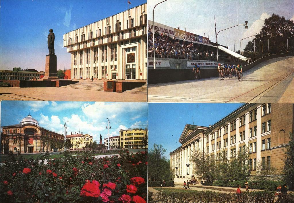 Киргизии, тула набор открыток