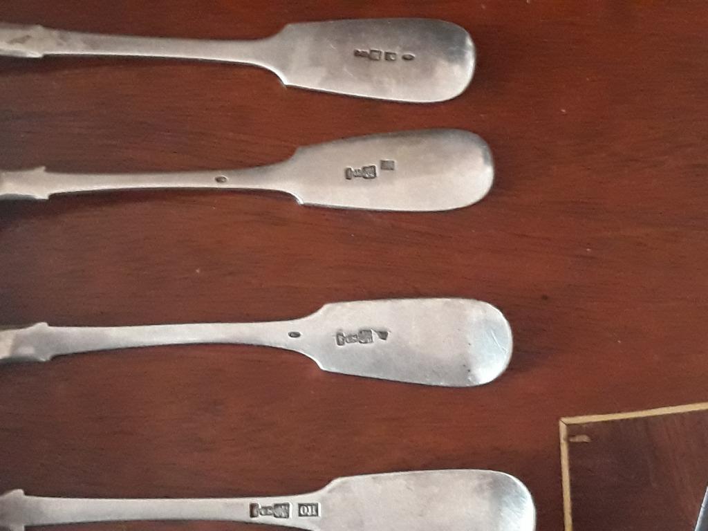 Серебрянные столовые ложки 84 пробы. С рубля за вашу цену !!!