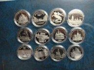 Набор 12х5 Рублей-1988-1991 Пруф-Оригиналы!!!