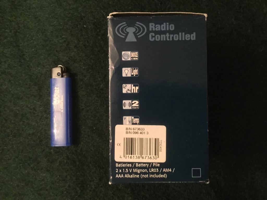 Часы настольные, радио контроль, новые, в наличии 2 комплекта