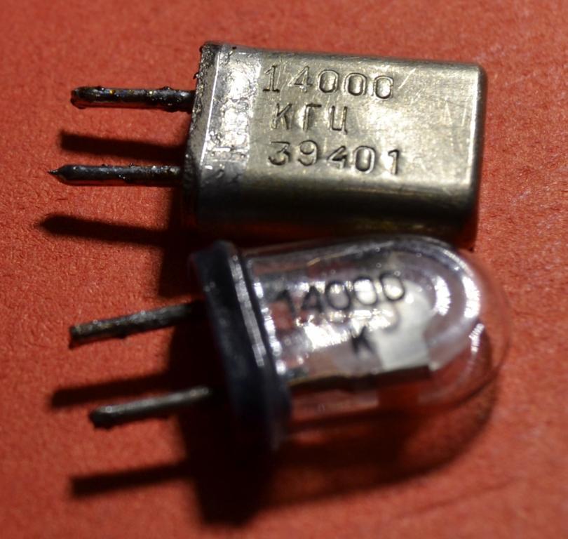 Кварцевый резонатор (14  000 КГЦ) Лот № Р-142
