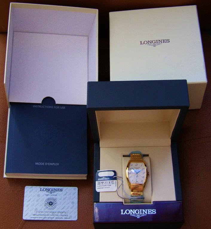 Longines / Evidenza / longines L2.642.6.73.6 ЗОЛОТО 750 ПРОБА ВЕС 178 ГР