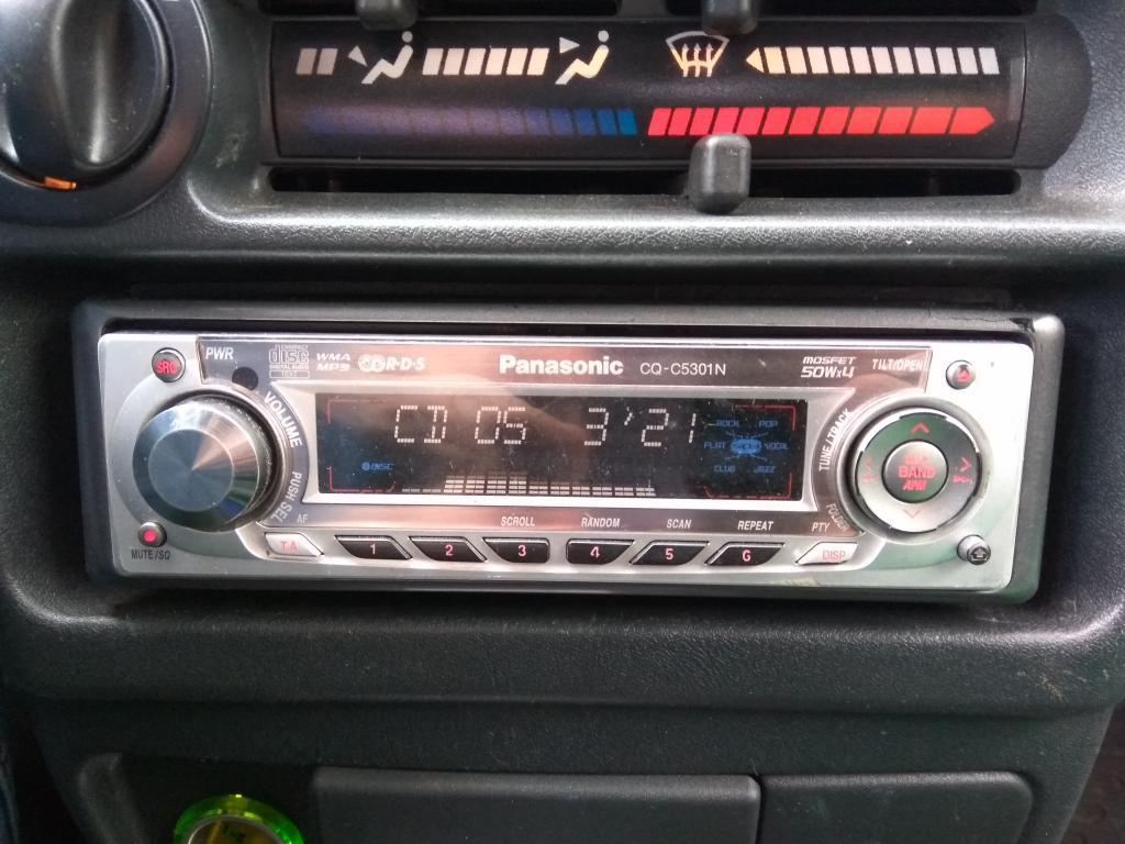 Автомагнитола CD/ Mp3 - Panasonic CQ-5301 4 х 50 Вход AUX; 6 лин.выходов; упр.Сабуфером