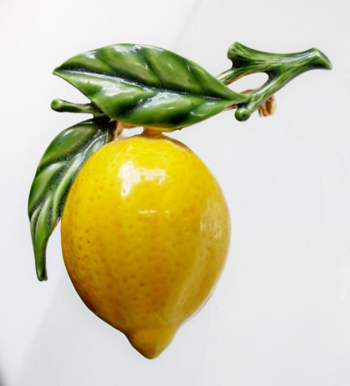 """Винтажная брошь """"Лимон"""" от Original by Robert"""