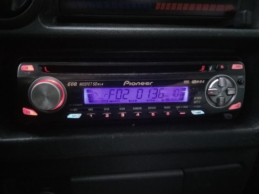 Автомагнитола CD/MP3-ресивер Pioneer DEH-P 4700 MPB синий дисплей отл.сост.