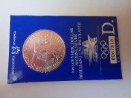 США 1 доллар 1983  Олимпиада Лос-Анджелес 1984  . СПОРТ .ОРИГИНАЛ !!СЕРЕБРО/ Ш 186