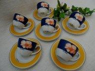 Набор кофейных пар 6 штук от Pierre Cardin, Франция