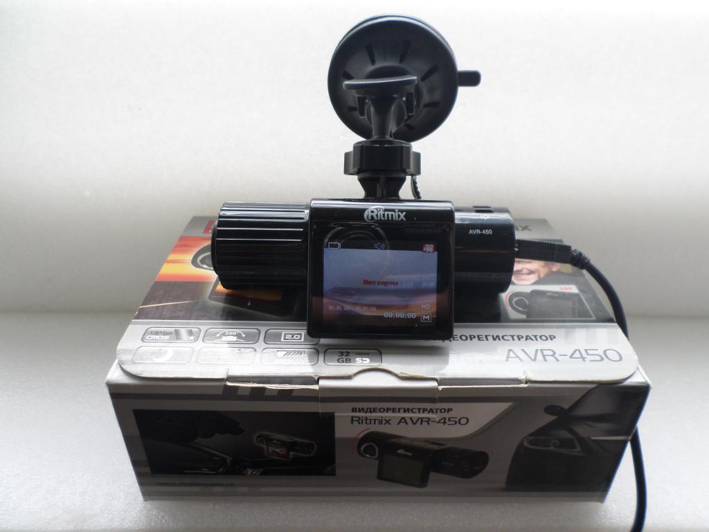 Ritmix AVR-450 Видеорегистратор.