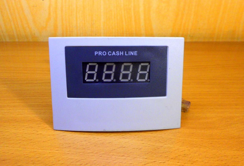 Выносной дисплей для счетчиков купюр серий PRO 40, 85 .