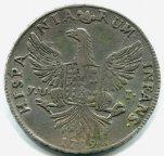 12 тари 1799 год.  Фердинандо III. Сицилия, Италия.
