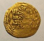 Золотой Динар 1030-1042 год. Масуд I. Гос-во Газневидов. Золото - 3.8 гр. Редкий!