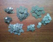 лот 260 монет ссср 1961-1991г.г.