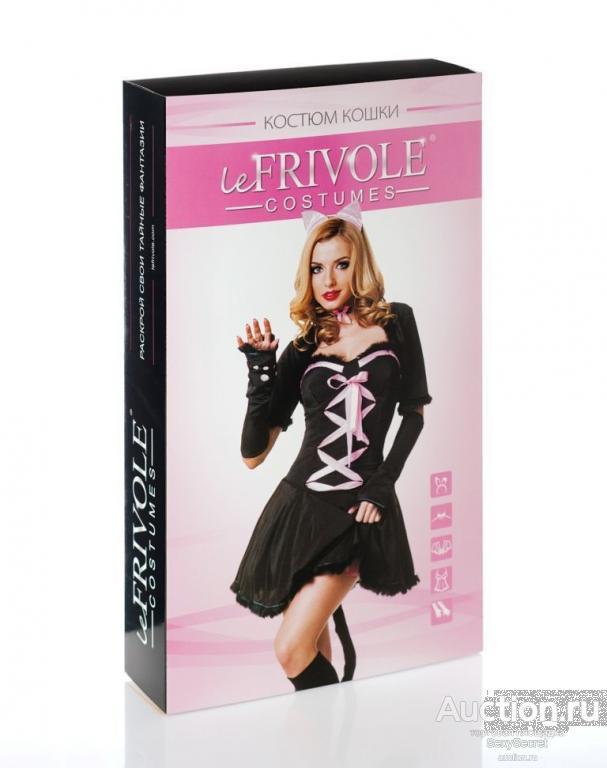 Le Frivole Костюм гламурной кисы (L-XL / черный)