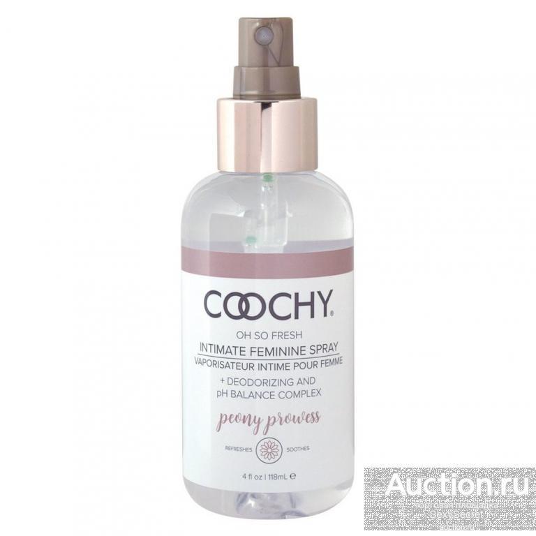 Coochy Ухаживающий женский спрей для зоны бикини COOCHY Peony Prowess - 118 мл.