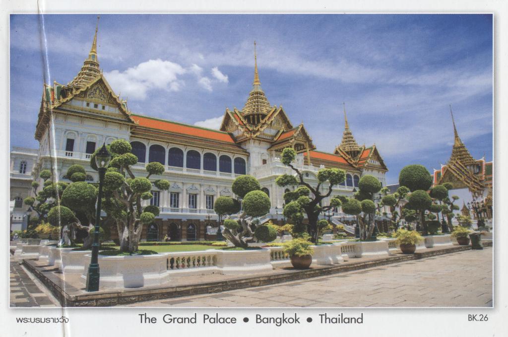 Таиланд открытка в россию
