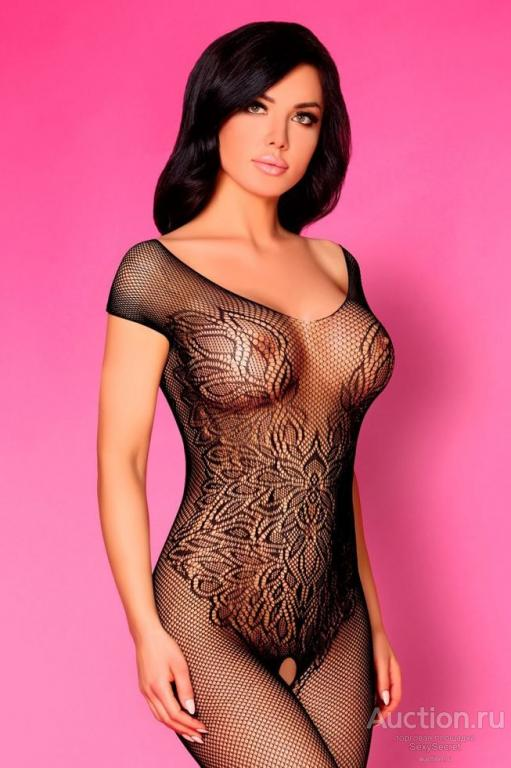 Women Sexy Bodysuit Crotchless Bodystocking Lace Floral Shee Yespornplease 1