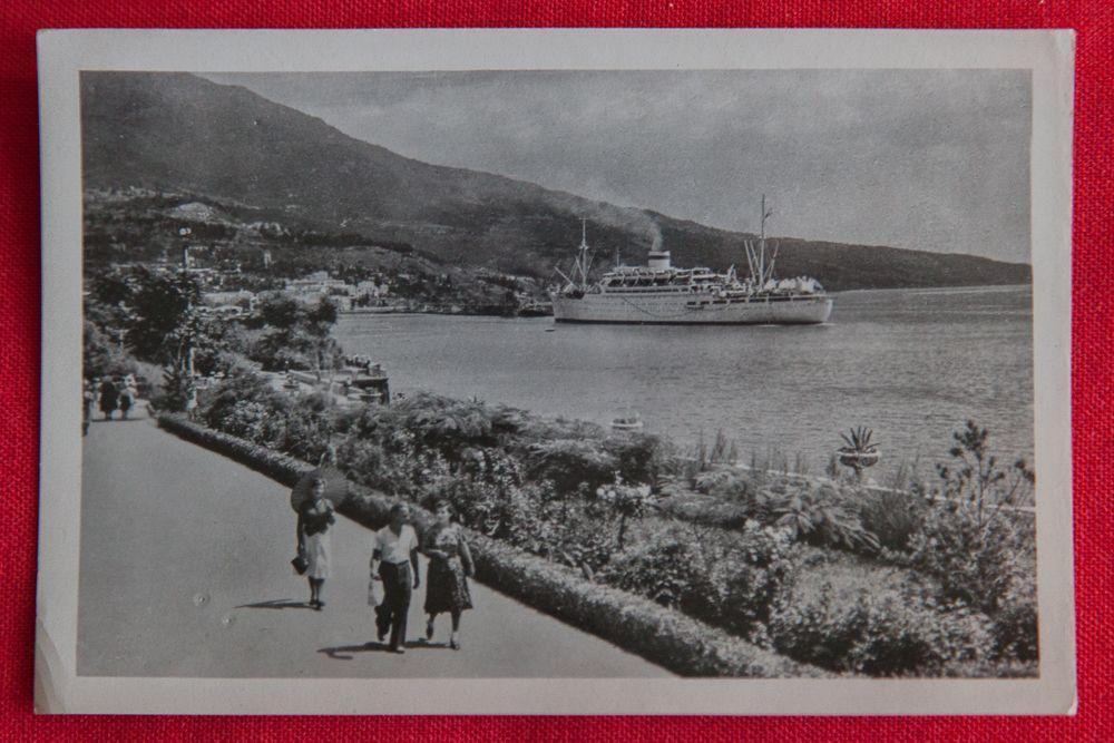 Ялта в советских открытках
