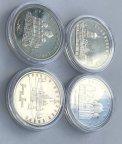 5 рублей СССР 1988 , 1990 , 1991, 1993 годы. Софийский , Успенский, Архангельский собор.