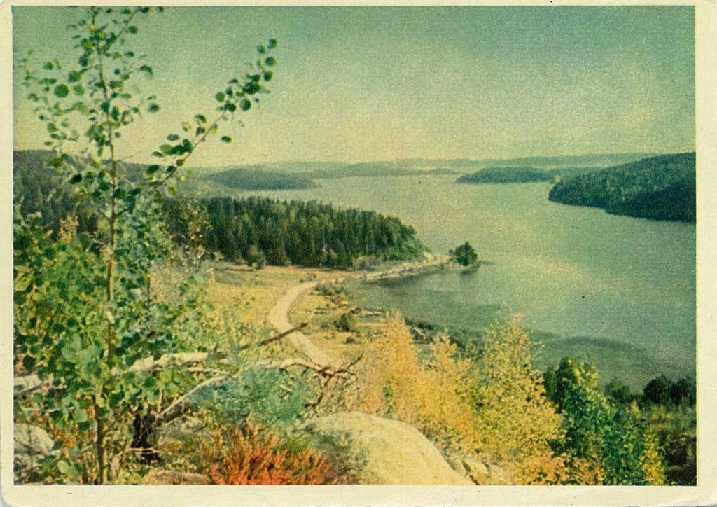 Сделать, открытки с природой ссср