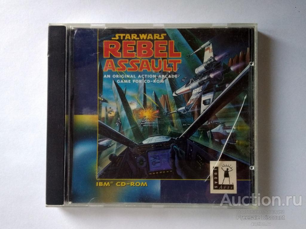 Star Wars Rebel assault игра CD диск ПК Т.