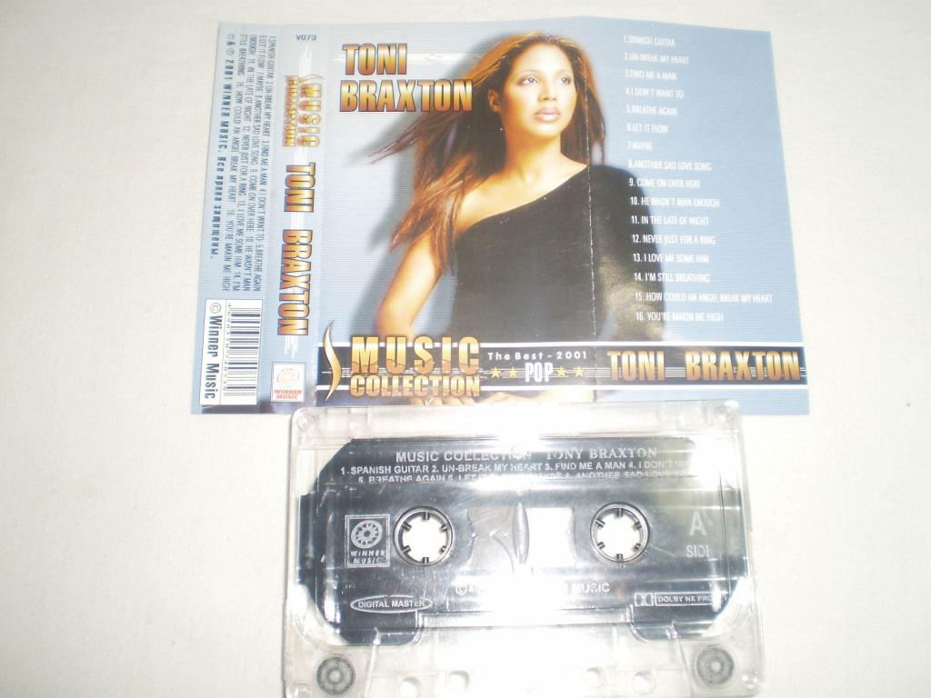 Toni Braxton ‎– Music Collection - Cass - RU