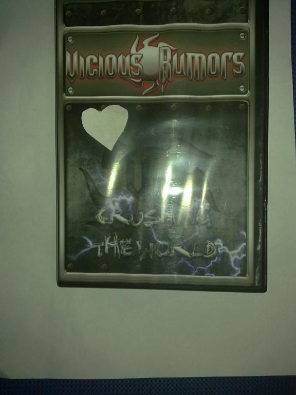 DVD  Vicious Rumors Crushing the world