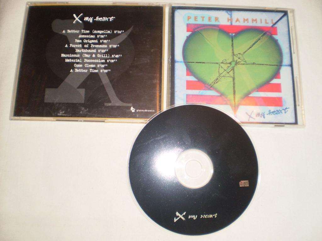 Peter Hammill ‎– X My Heart - CD