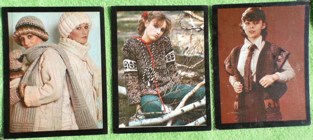 Открытки вязание мода для всех, открыток дню матери