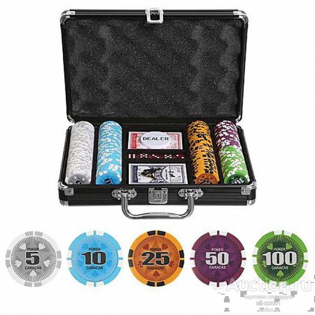 Набор для покера CARAKAS на 200 фишек GD/car200