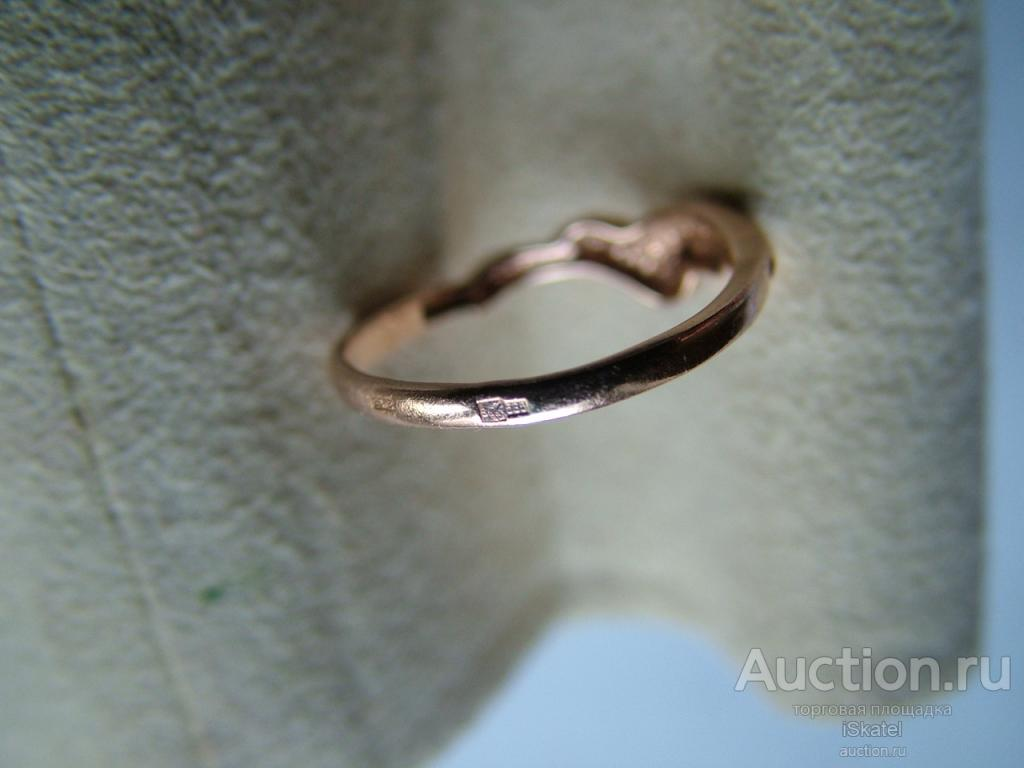 Кольцо Золото 585 проба. 1.48 г. Размер 16.5