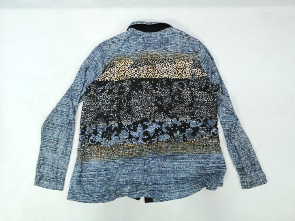 Блузка рубашка стильная Sommer Mann, Разм 18, L, Отл сост!