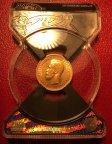 Золотая монета 10 рублей 1899 Николай II, АГ, СЛАБ MS 62, 8.6 гр., Au900, С РУБЛЯ!