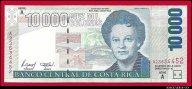 10000 колонов 1997 Коста-Рика превосходные UNC R !