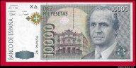 10000 песет 1992 Испания превосходные UNC R !