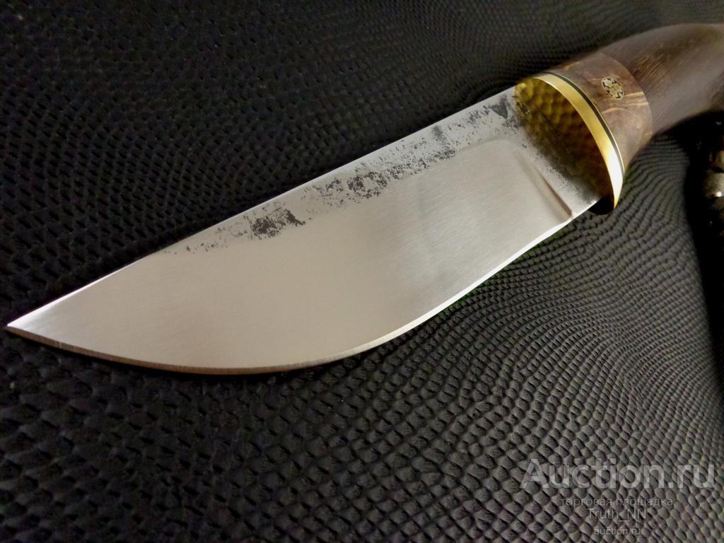 """Нож """"Таежный"""" ОБУХ 4,6 мм !!! Ручная работа !!! С РУБЛЯ !!!"""