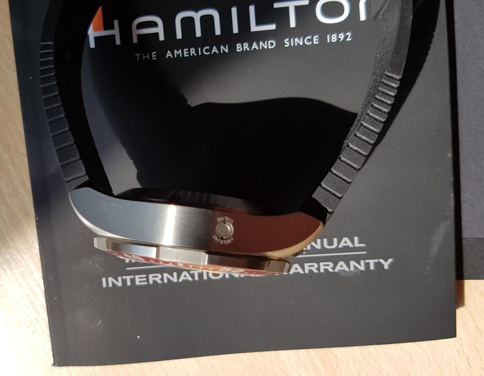 ЧАСЫ  HAMILTON Коллекция: Khaki Navy
