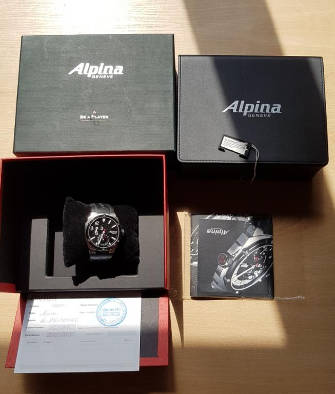 ЧАСЫ  Alpina Avalanche Extreme Regulator AL-950LBG4FBAE6